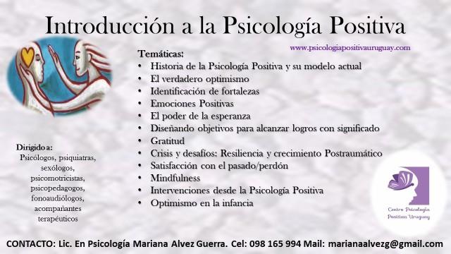 curso psicología profesionales
