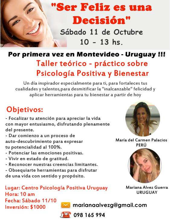 taller psicologia positiva