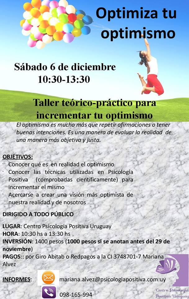 taller optimismo uruguay